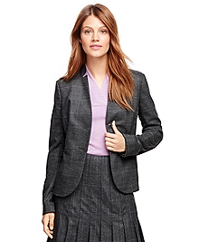 Saxxon Wool Plaid Jacket