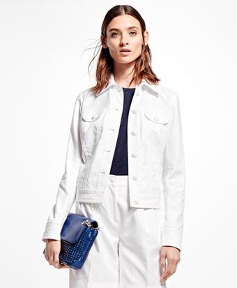 Cotton Dobby Jacket