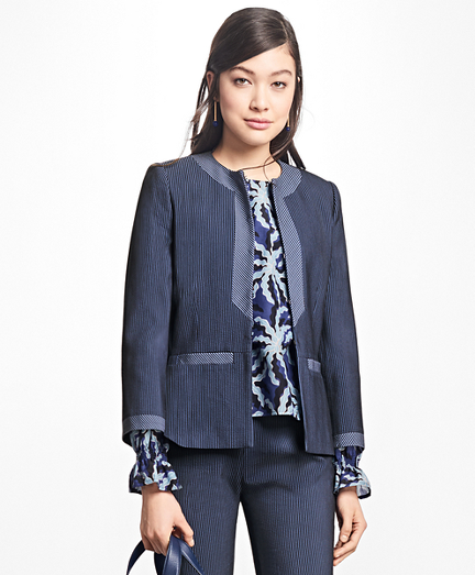 Corded Cotton-Blend Jacket