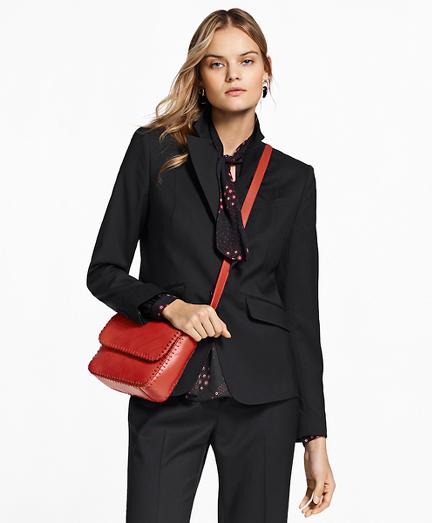 Wool Diamond Jacquard Jacket