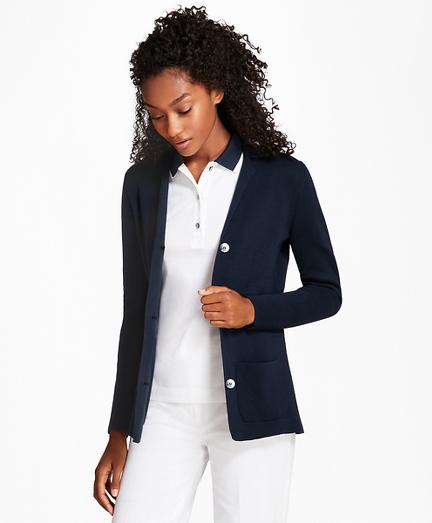 Knit Supima® Cotton Blazer