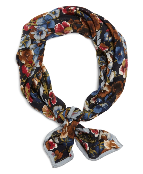 Pansy Neckerchief Blue