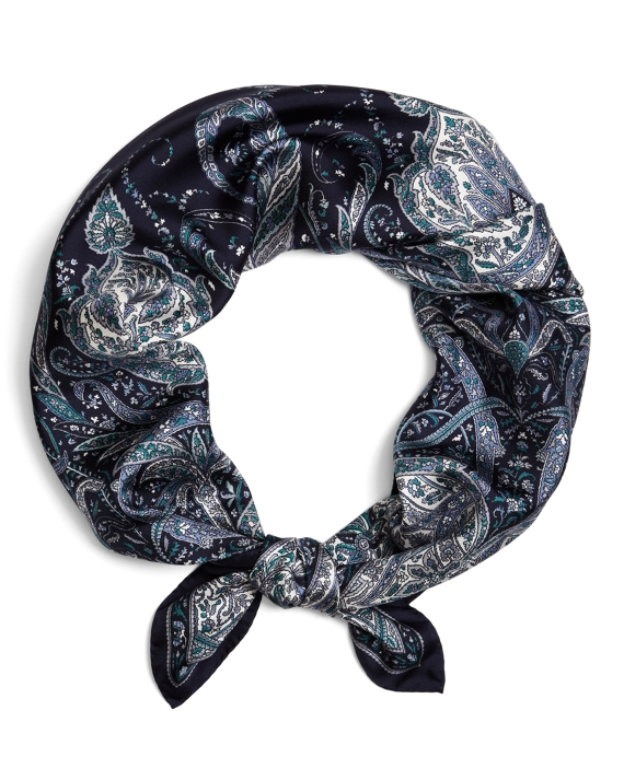Paisley Square Navy