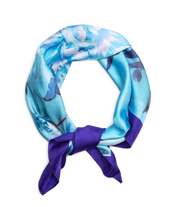 Carnation Silk Square Blue