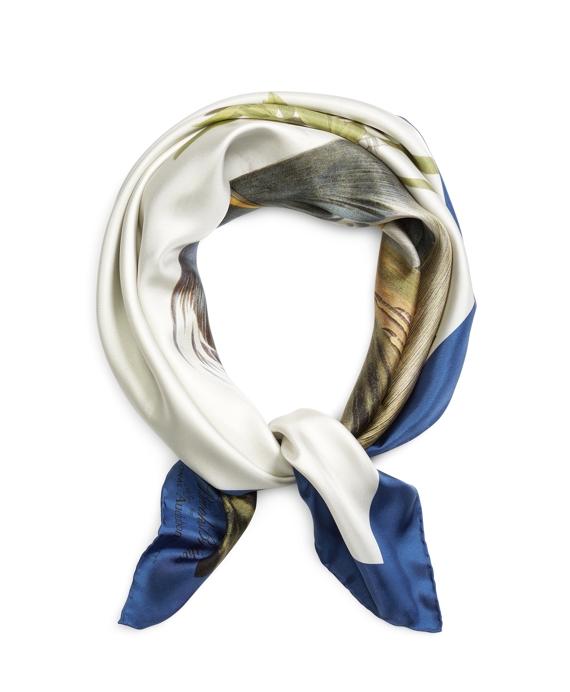 Audubon Silk Square Blue