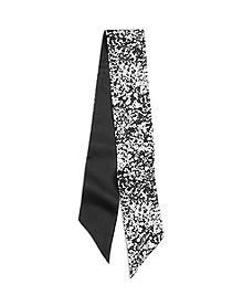 Small Tie Silk Scarf