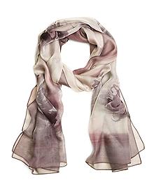 Silk Watercolor Oblong