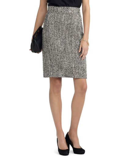 Buy Wool Boucle Herringbone Skirt, see details about this diamond and more