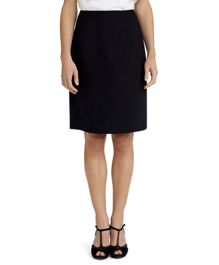 Buy Wool and Silk Pencil Skirt, see details about this diamond and more