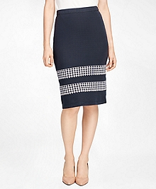 Cotton Jacquard Skirt