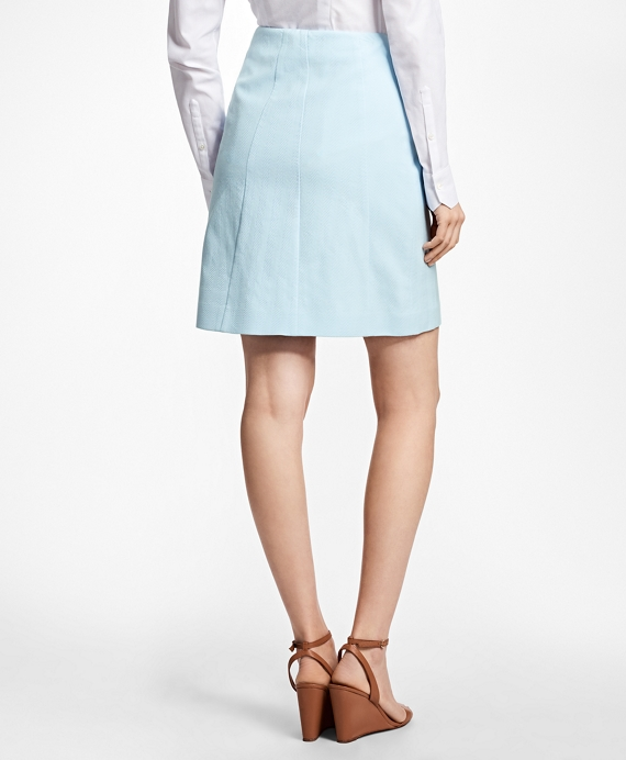 Stretch-Cotton A-Line Skirt - Brooks Brothers