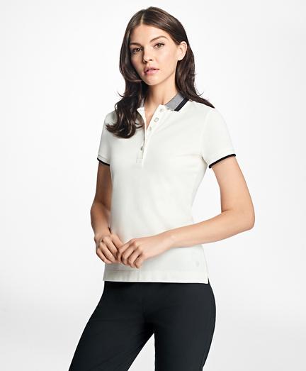 Slim-Fit Stretch-Cotton Pique Polo