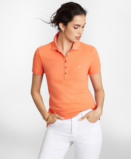 Stretch Supima® Cotton Pique Polo Shirt