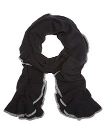 Cashmere Ruffled Wrap