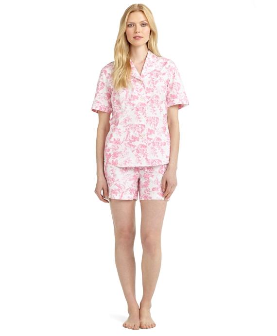 Floral Print Pajamas Pink