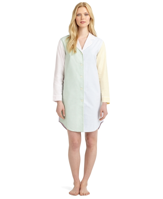 Fun Supima® Cotton Oxford Nightshirt Multi