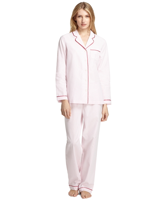 Solid Classic Pajamas Pink