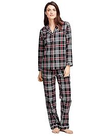 Cotton Plaid Pajama Set
