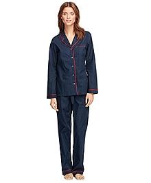 Cotton Micro Dot Pajama Set
