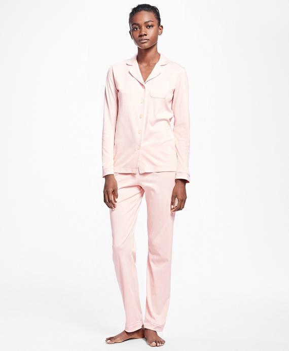Interlock Pima Cotton Pajama Set