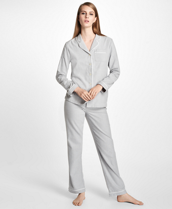 Cotton Twill Pajama Set