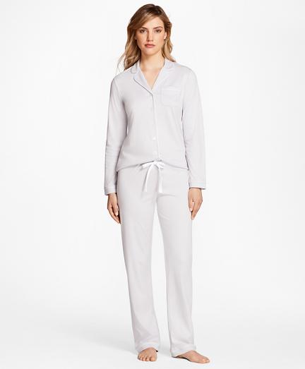 Pima Cotton Interlock Pajama Set