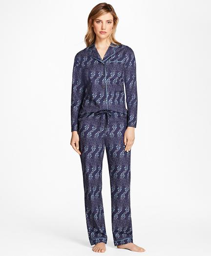 Floral-Print Supima® Cotton Pajama Set
