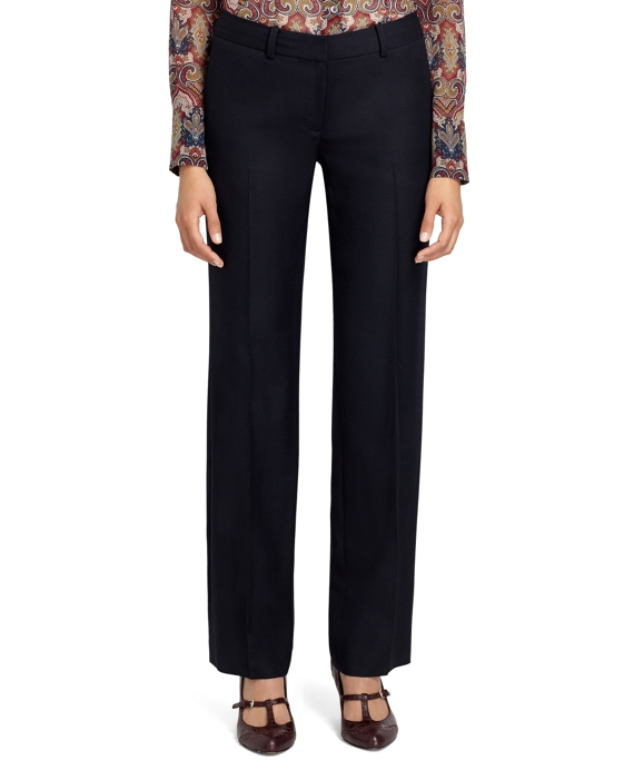 Lucia Fit Straight Leg Trousers Navy
