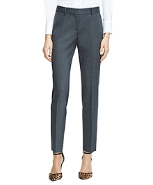 Lucia Fit Slim Wool Trousers