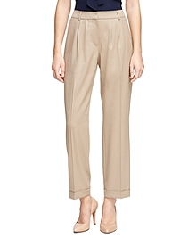 Caroline Fit Wool Stretch Trousers