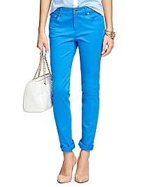 Natalie Fit Five-Pocket Pants