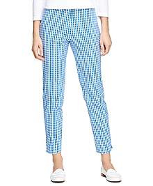 Natalie Fit Gingham Pants
