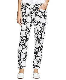 Natalie Fit Floral Pants