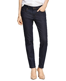 Supima® Cotton Five-Pocket Jeans