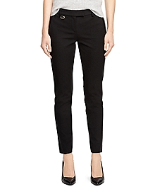 Natalie Fit Cotton Pants