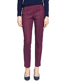 Natalie Fit Jacquard Pants