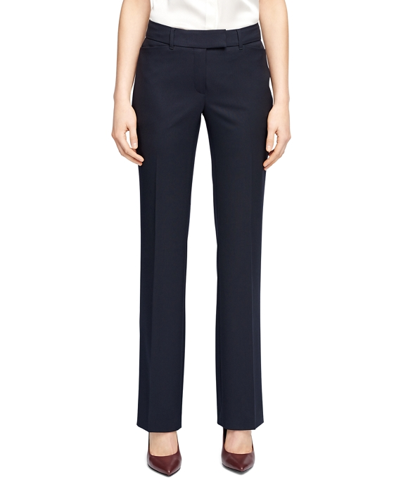 Lucia Fit Wool Trousers Navy