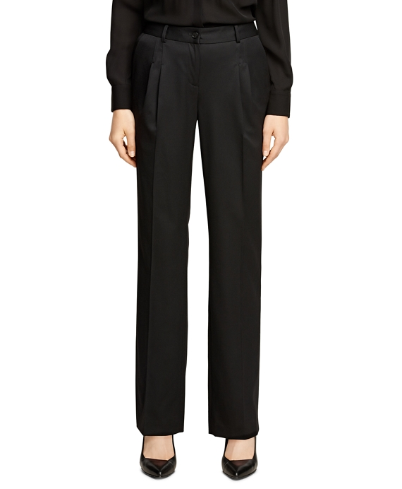 Lucia Fit Wool Gabardine Trousers