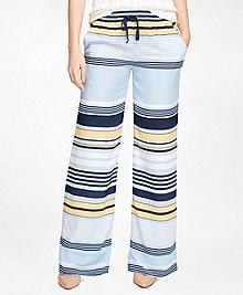 Silk Printed Pants