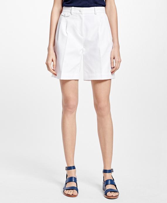 Cotton Dobby Shorts