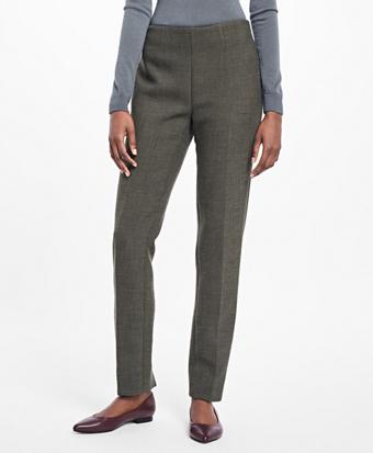 Stretch-Wool Dress Pants