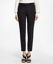 Slim-Fit Stretch Wool Tuxedo Pants