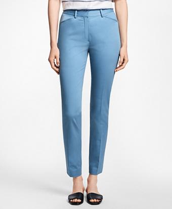 Stretch Cotton Twill Pants