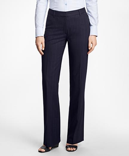 Pinstripe High-Waisted BrooksCool® Pants
