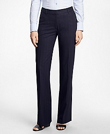 Pinstripe High-Waisted BrooksCool® Pants