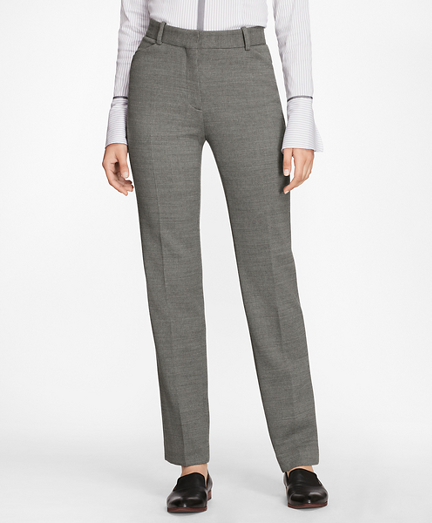 Double-Weave Stretch-Wool Pants