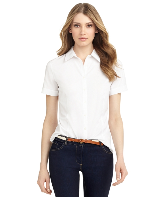 White Button Up Shirt Womens | Is Shirt