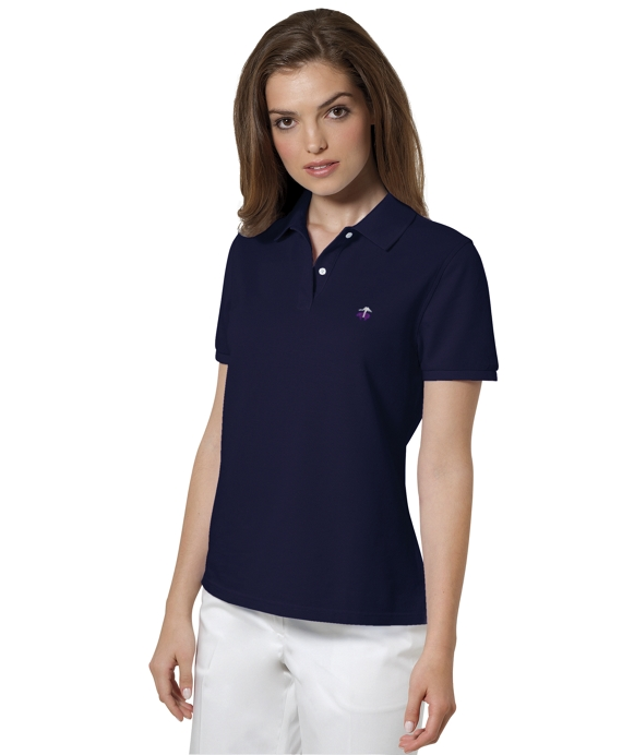 Golden Fleece® Performance Classic Fit Polo Brooks Navy