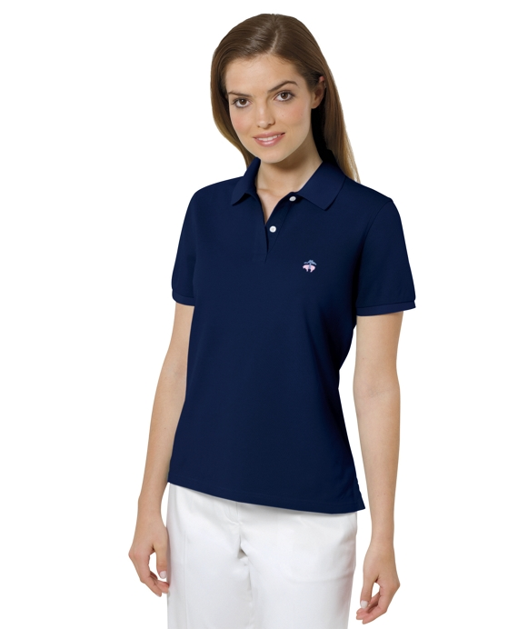 Golden Fleece® Performance Slim Fit Polo Navy Seal