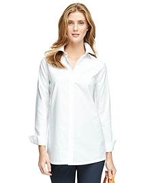 Non-Iron Supima® Cotton Tunic